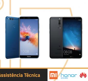 Assistência Técnica Xiaomi, Honor, Huawei, OnePlus